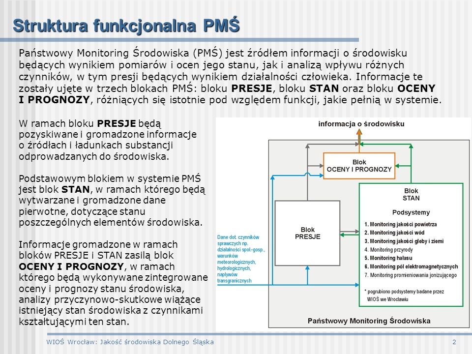 Struktura funkcjonalna PMŚ