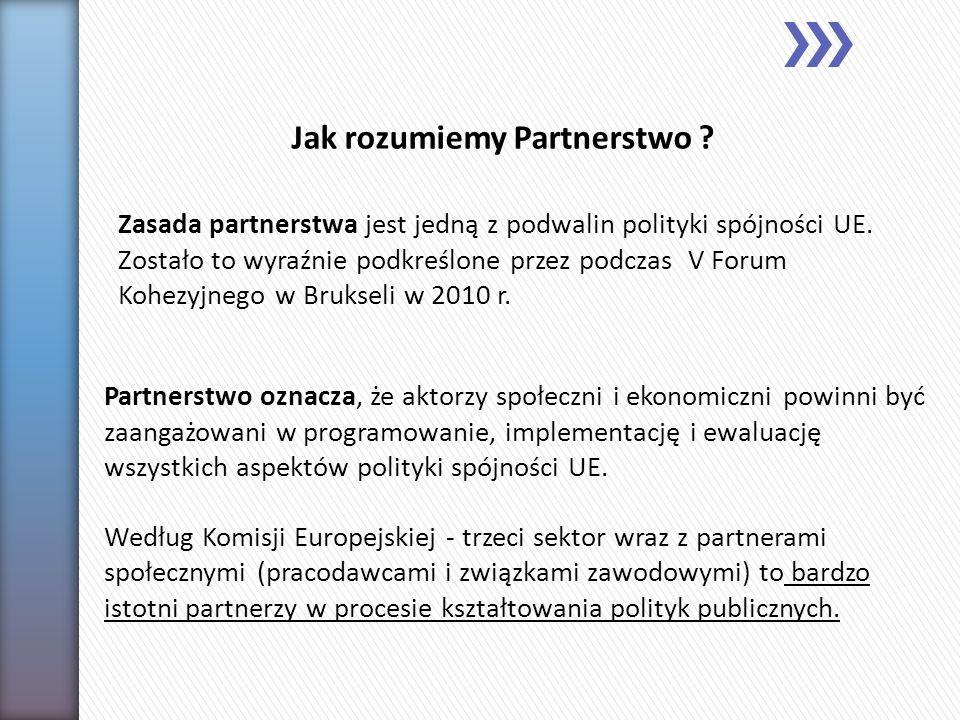 Jak rozumiemy Partnerstwo