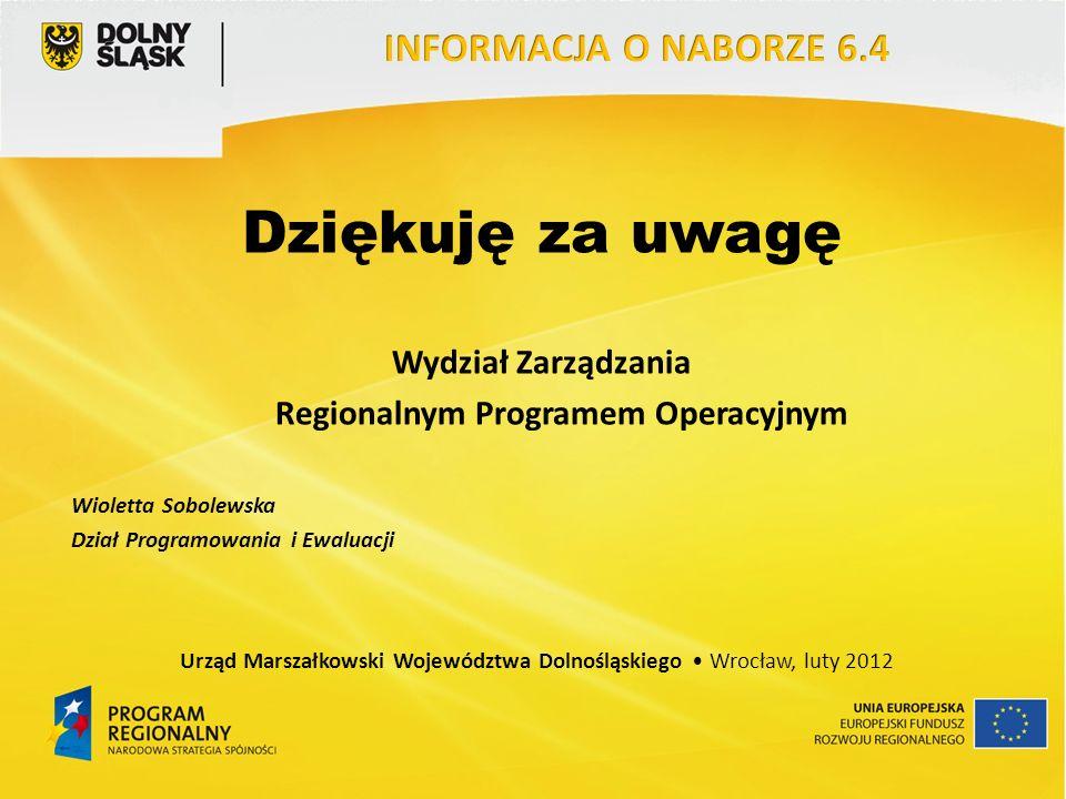 Regionalnym Programem Operacyjnym