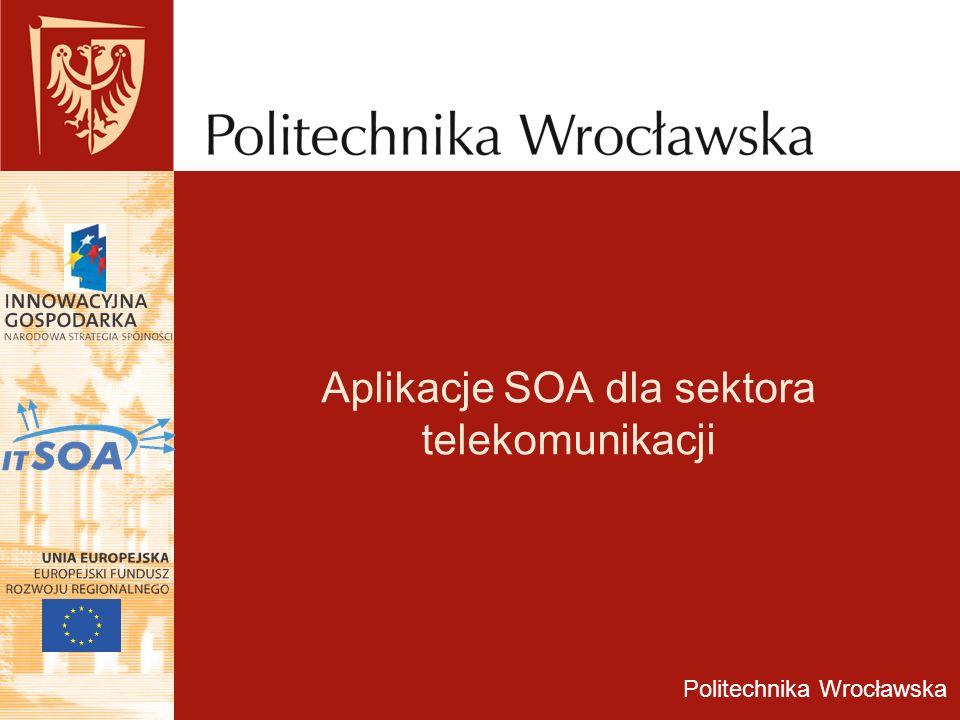 Aplikacje SOA dla sektora telekomunikacji
