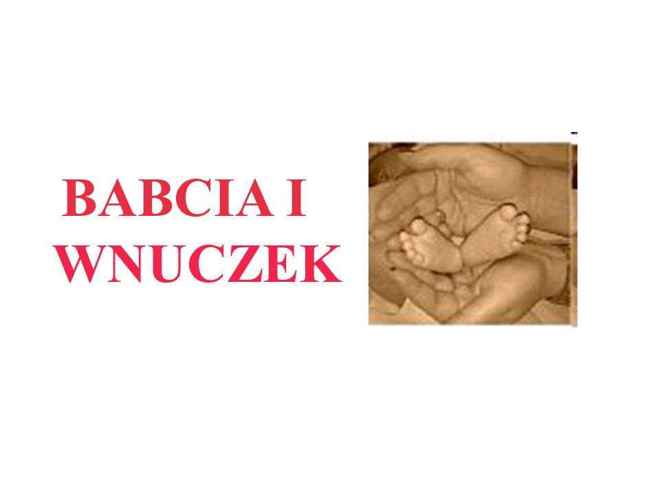 BABCIA I WNUCZEK