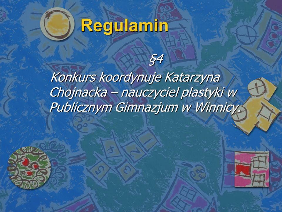 Regulamin §4.