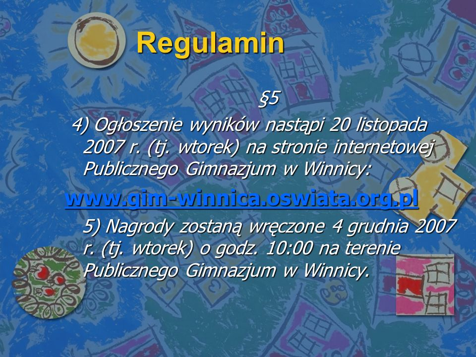 Regulamin www.gim-winnica.oswiata.org.pl §5