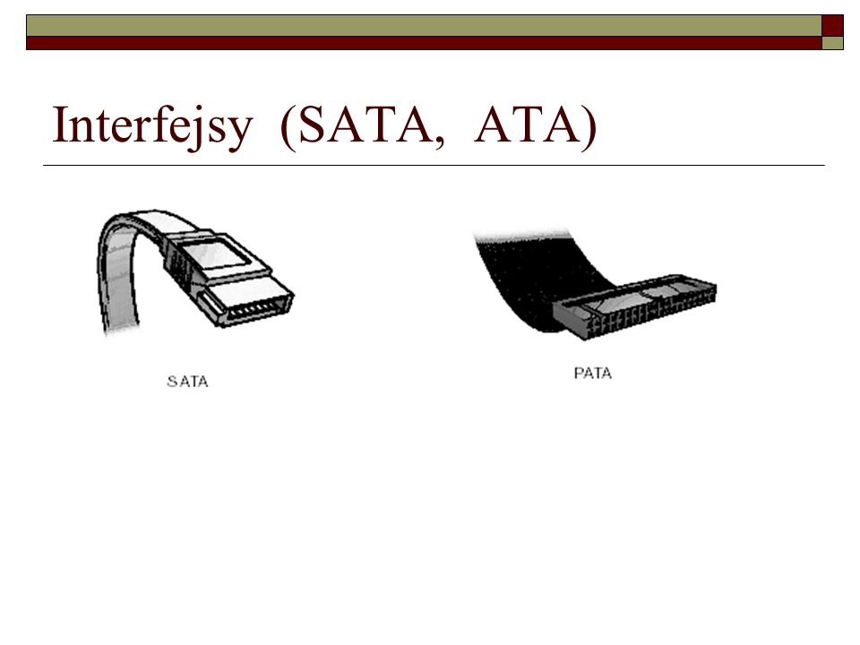 Interfejsy (SATA, ATA)