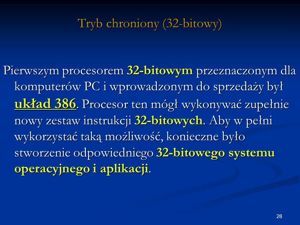 Tryb chroniony (32-bitowy)