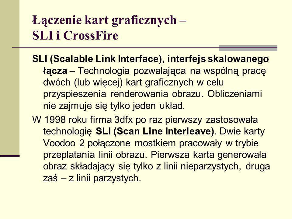 Łączenie kart graficznych – SLI i CrossFire