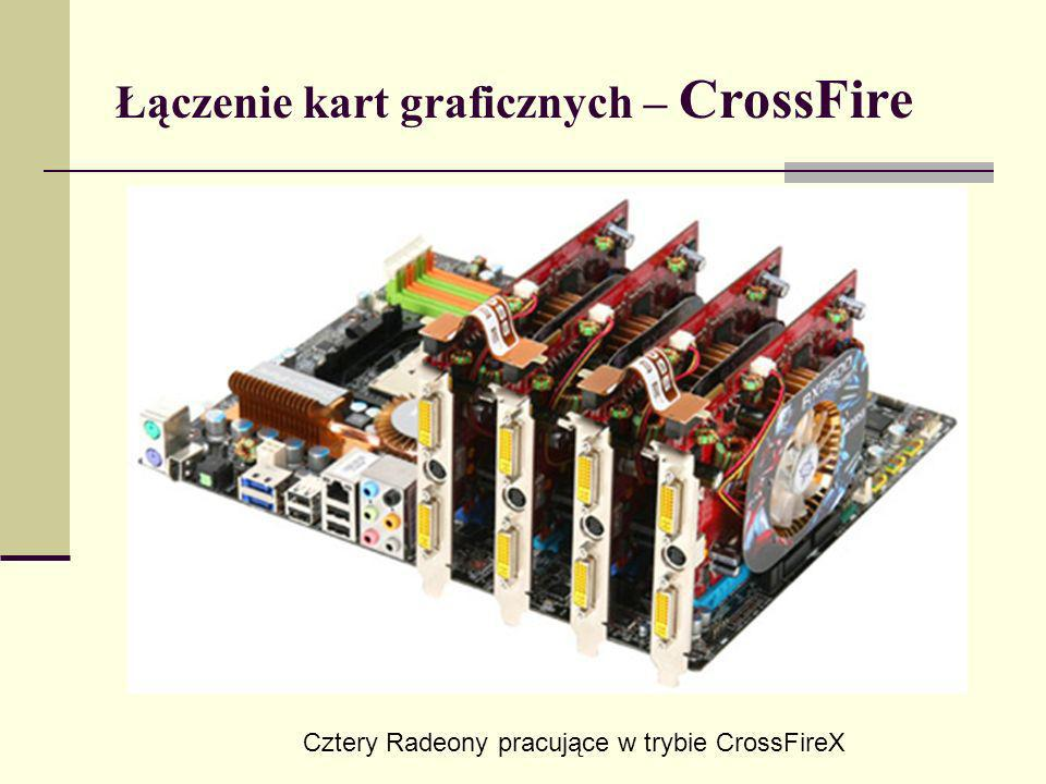 Łączenie kart graficznych – CrossFire