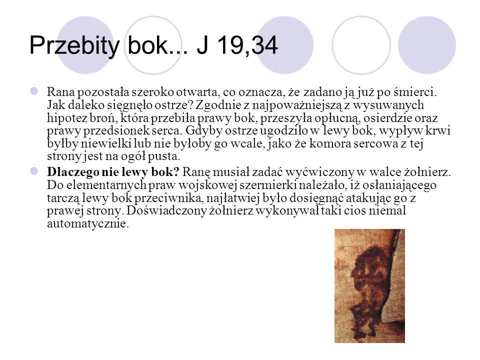Przebity bok... J 19,34
