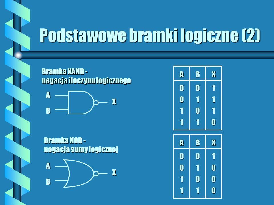 Podstawowe bramki logiczne (2)