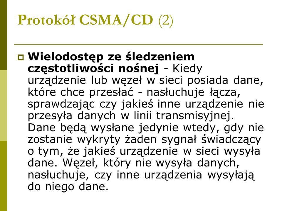 Protokół CSMA/CD (2)