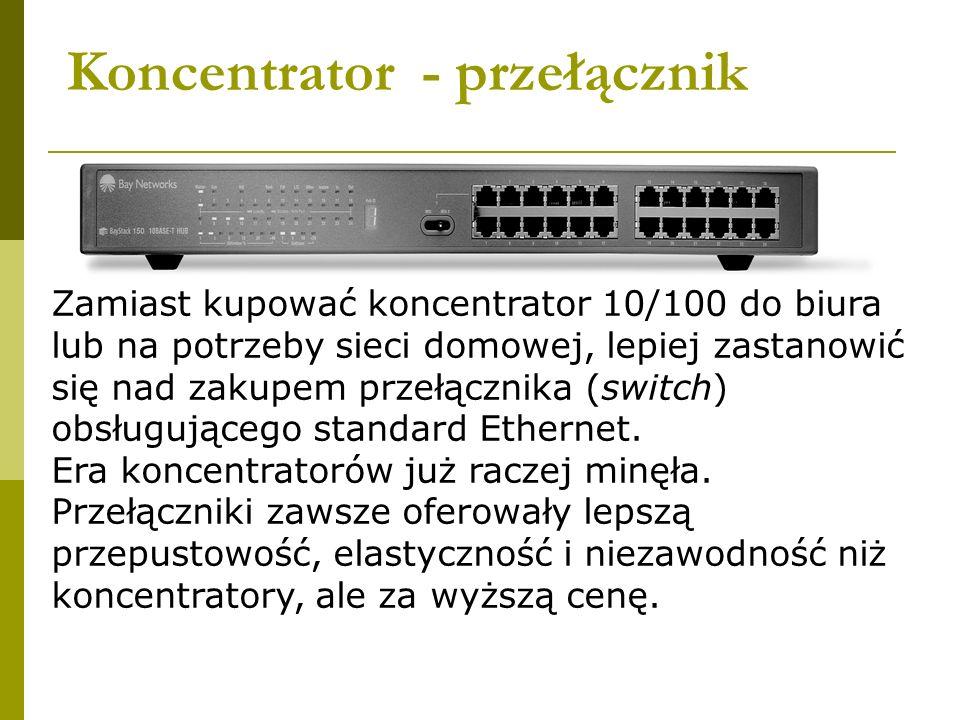 Koncentrator - przełącznik