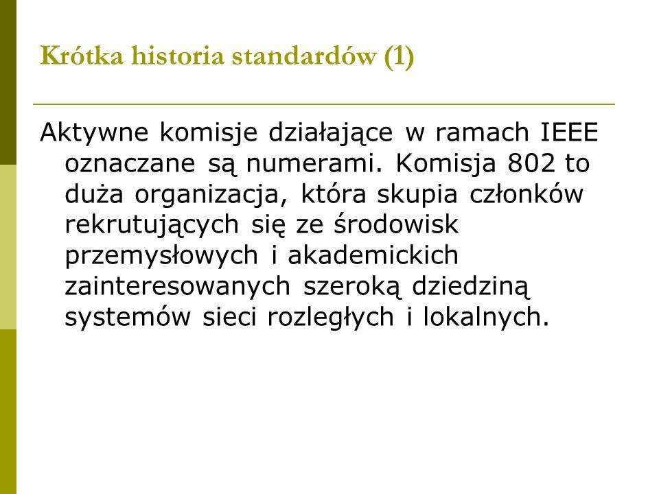 Krótka historia standardów (1)