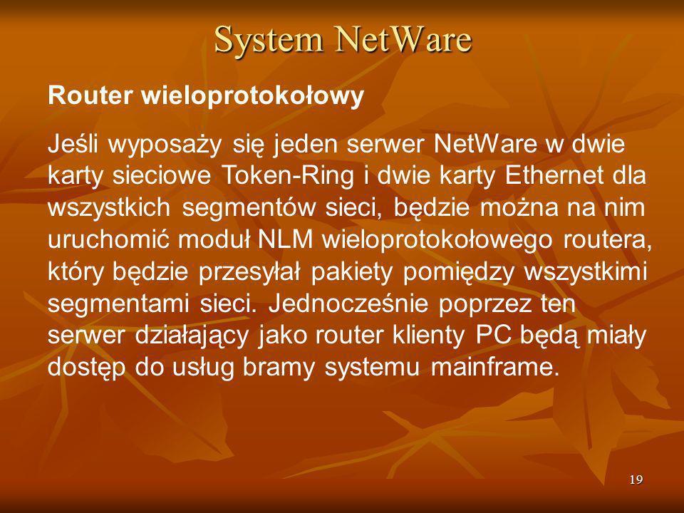 System NetWare Router wieloprotokołowy