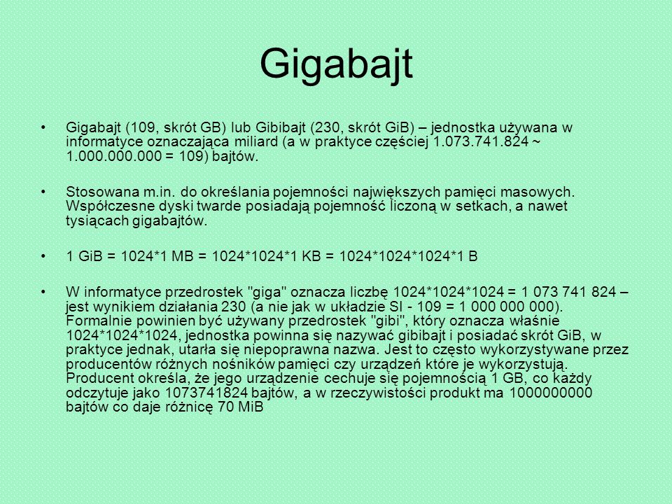 Gigabajt