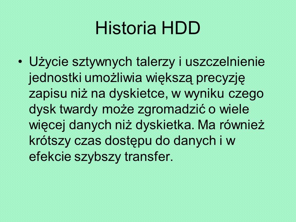 Historia HDD