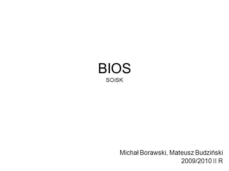 Michał Borawski, Mateusz Budziński 2009/2010 II R