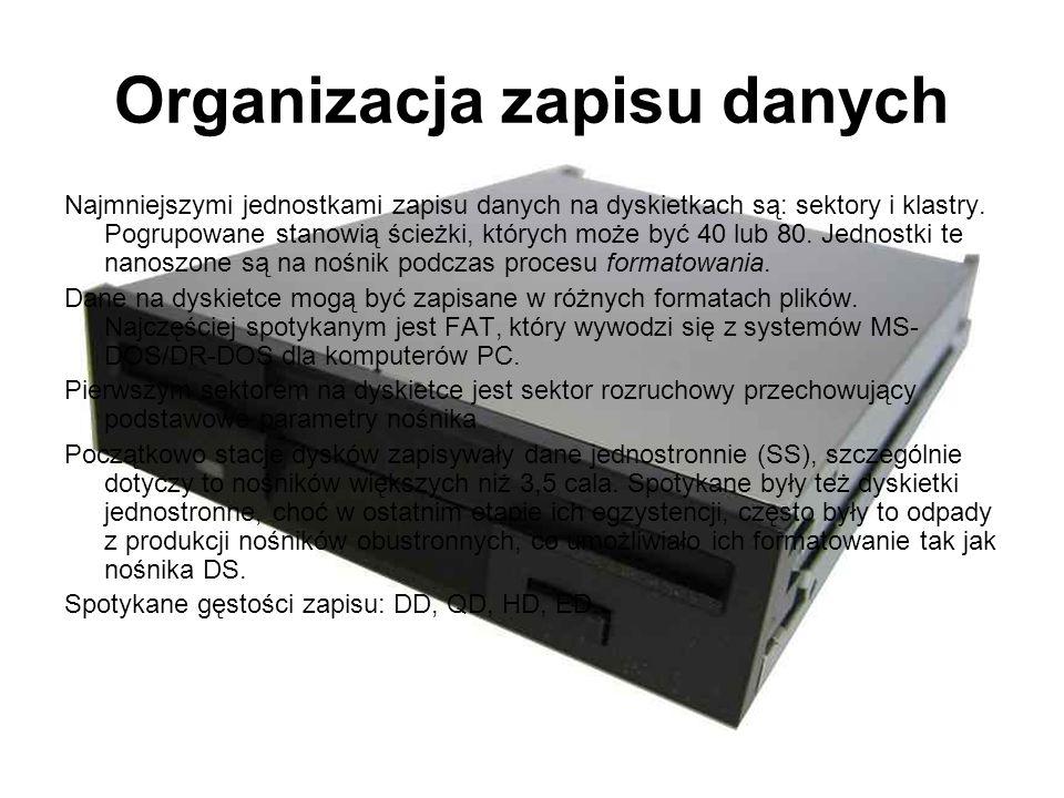Organizacja zapisu danych