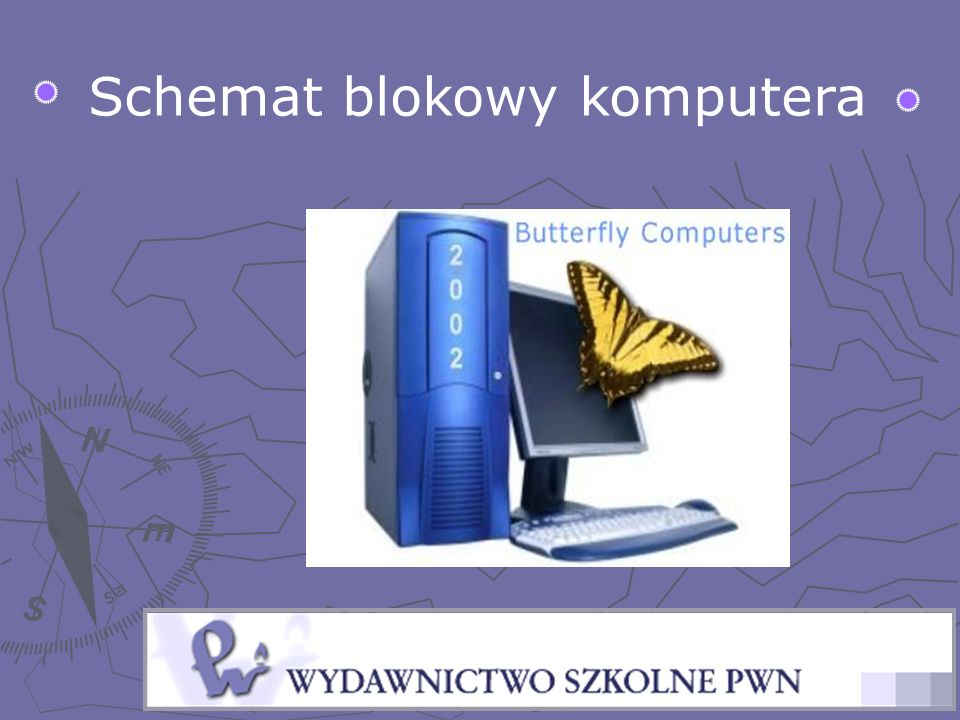 Schemat blokowy komputera
