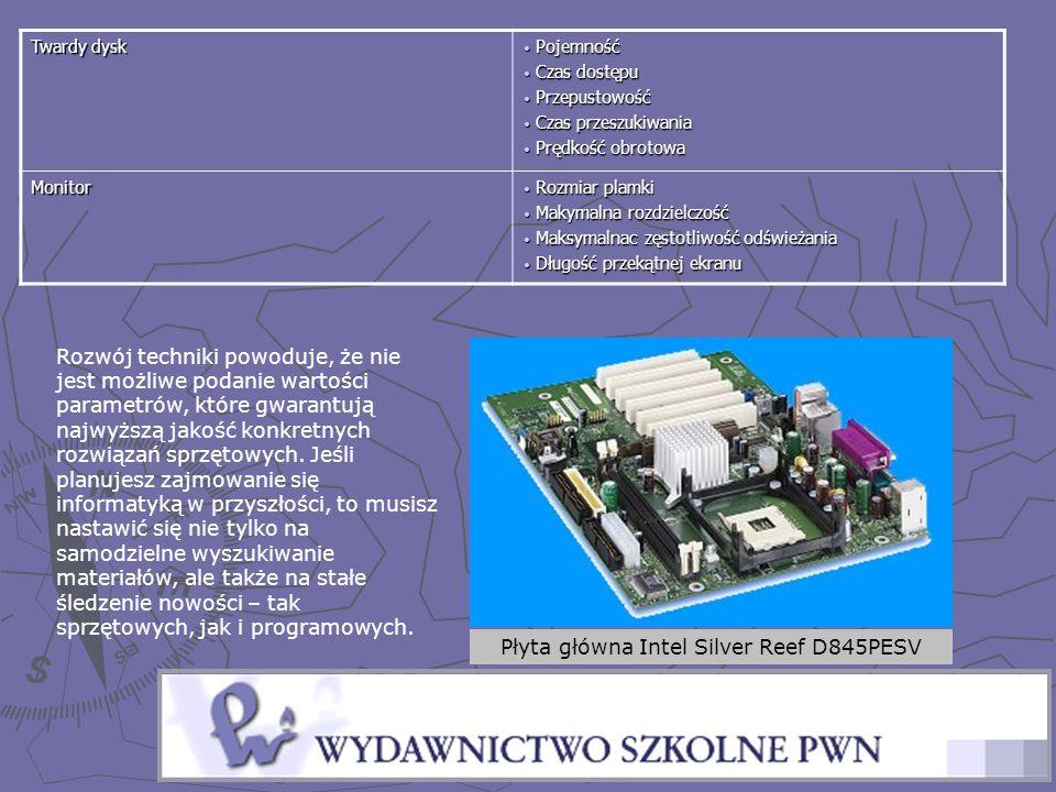 Płyta główna Intel Silver Reef D845PESV