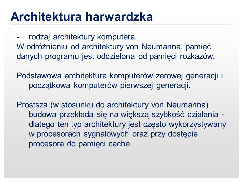 Architektura harwardzka