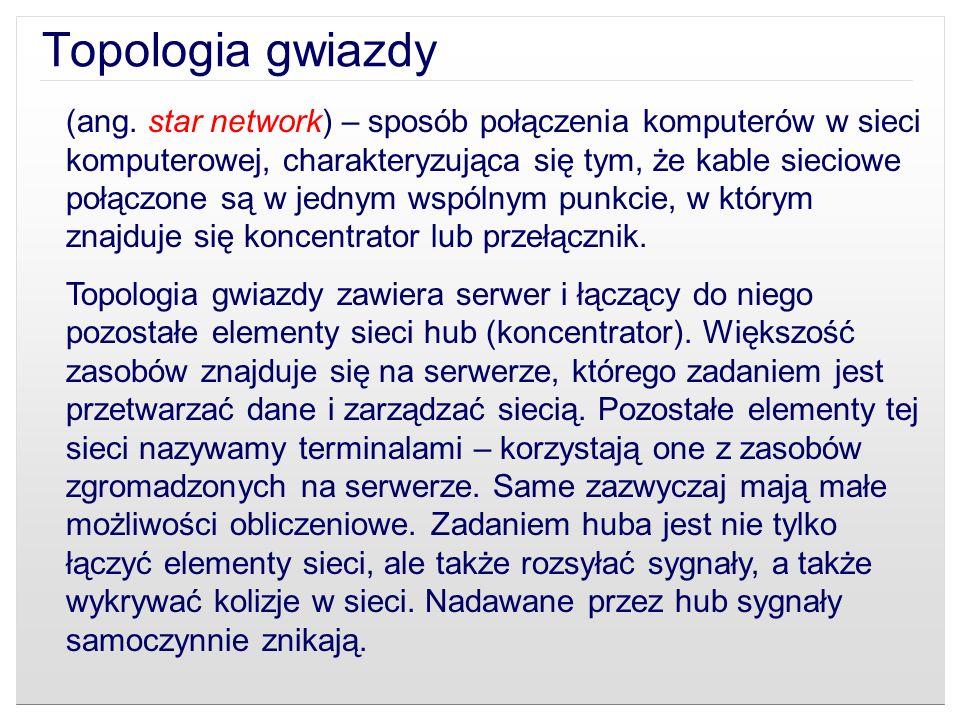Topologia gwiazdy