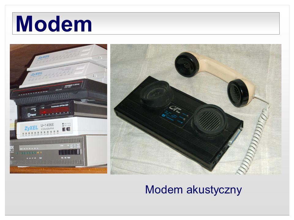 Modem Modem akustyczny