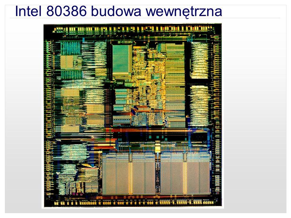 Intel 80386 budowa wewnętrzna