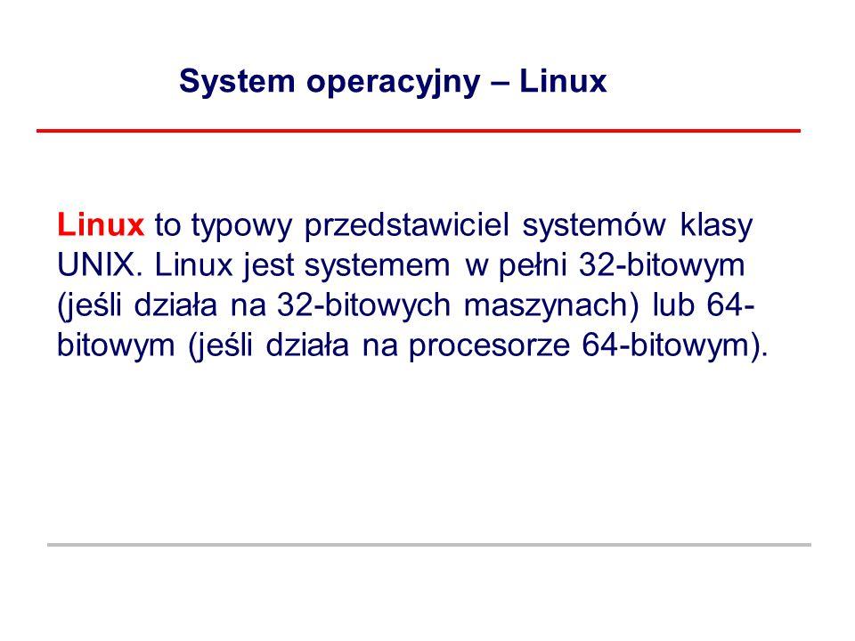 System operacyjny – Linux