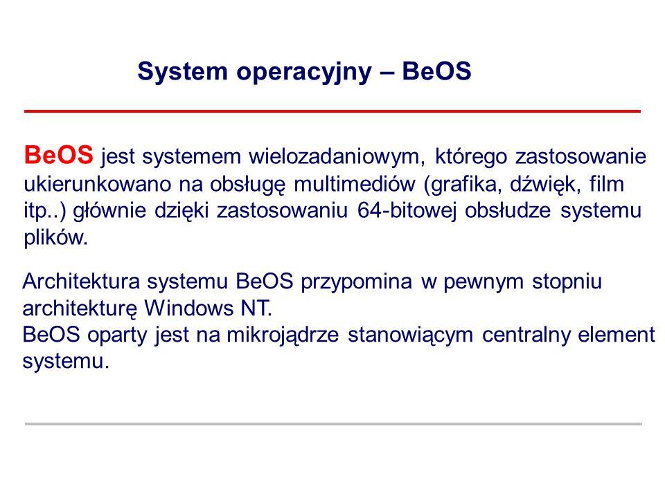System operacyjny – BeOS