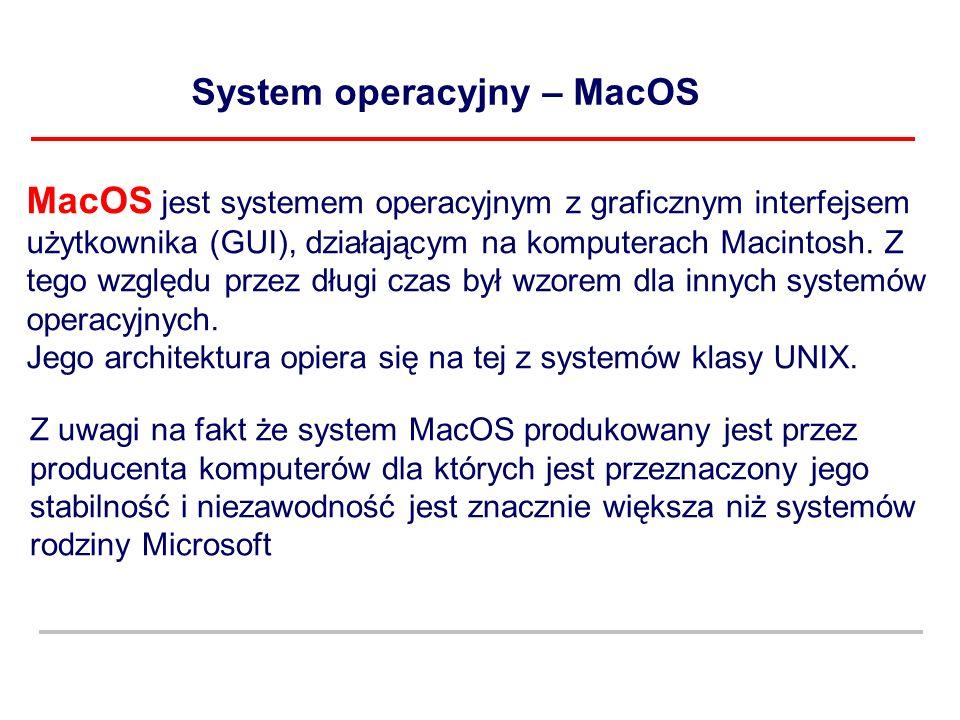 System operacyjny – MacOS
