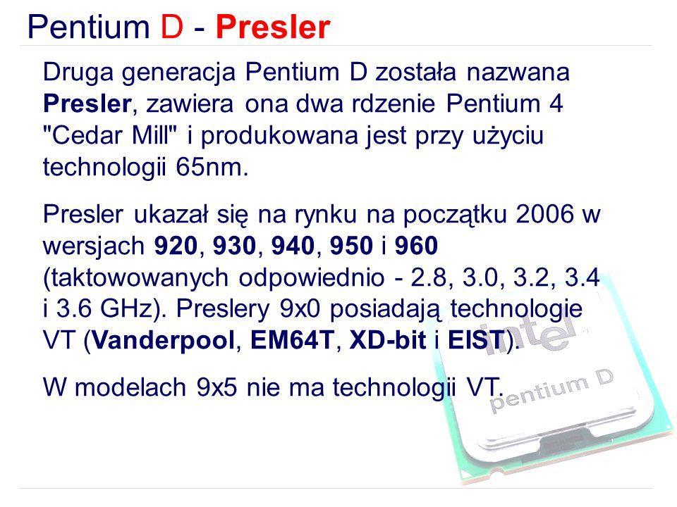 Pentium D - Presler