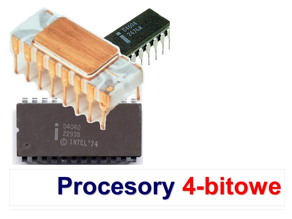 Procesory 4-bitowe
