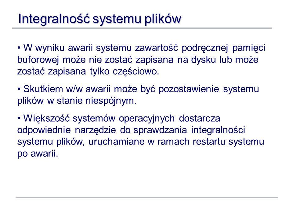 Integralność systemu plików