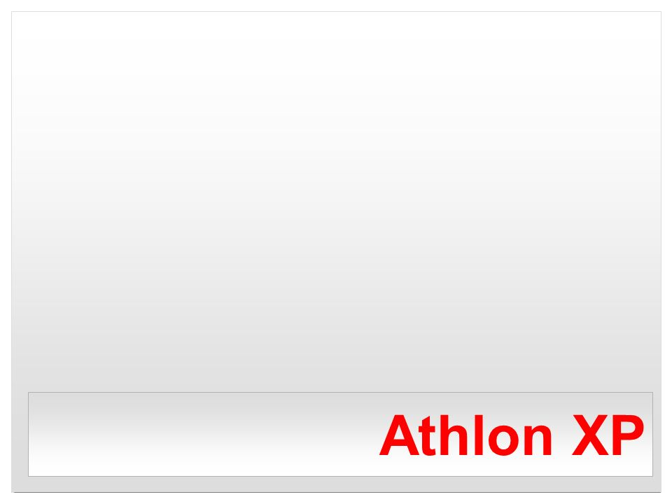 Athlon XP