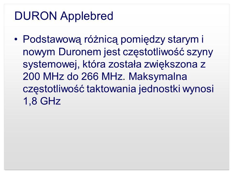 DURON Applebred