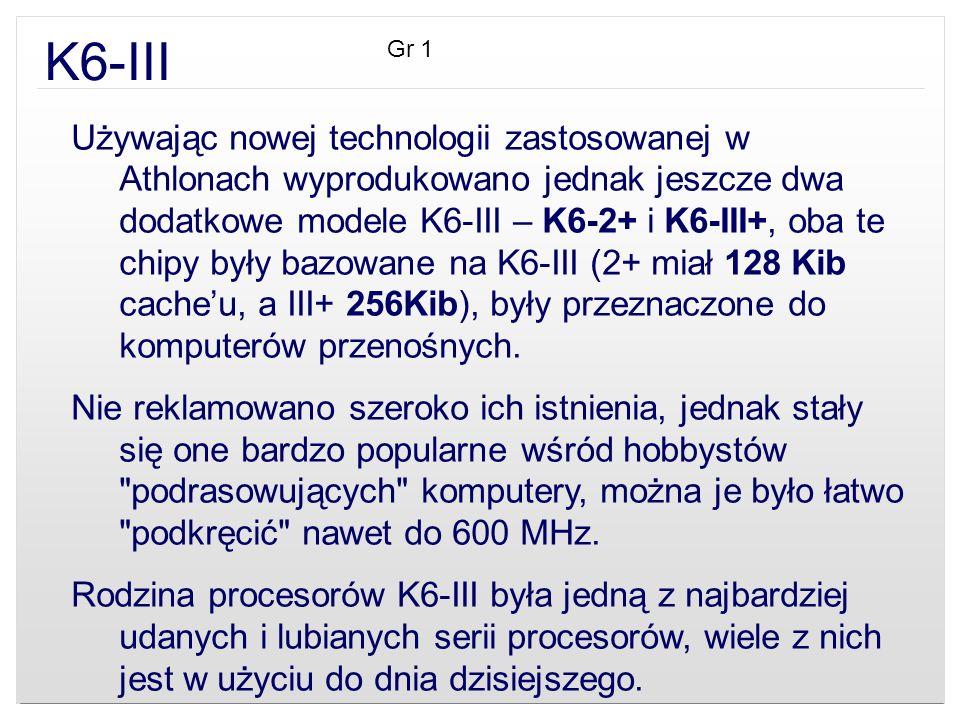 K6-III Gr 1.