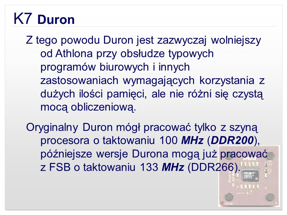 K7 Duron