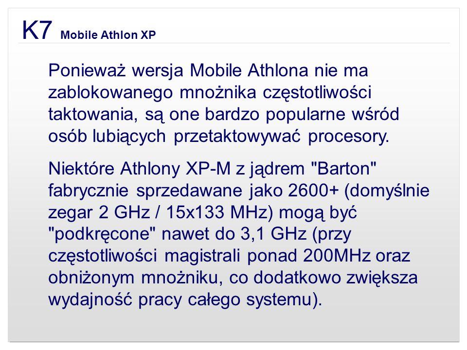 K7 Mobile Athlon XP