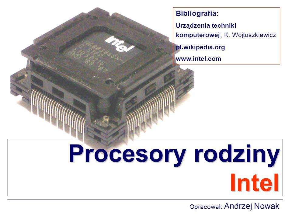 Procesory rodziny Intel