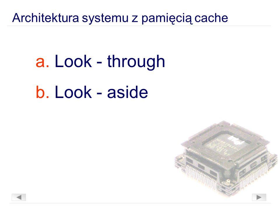 Architektura systemu z pamięcią cache