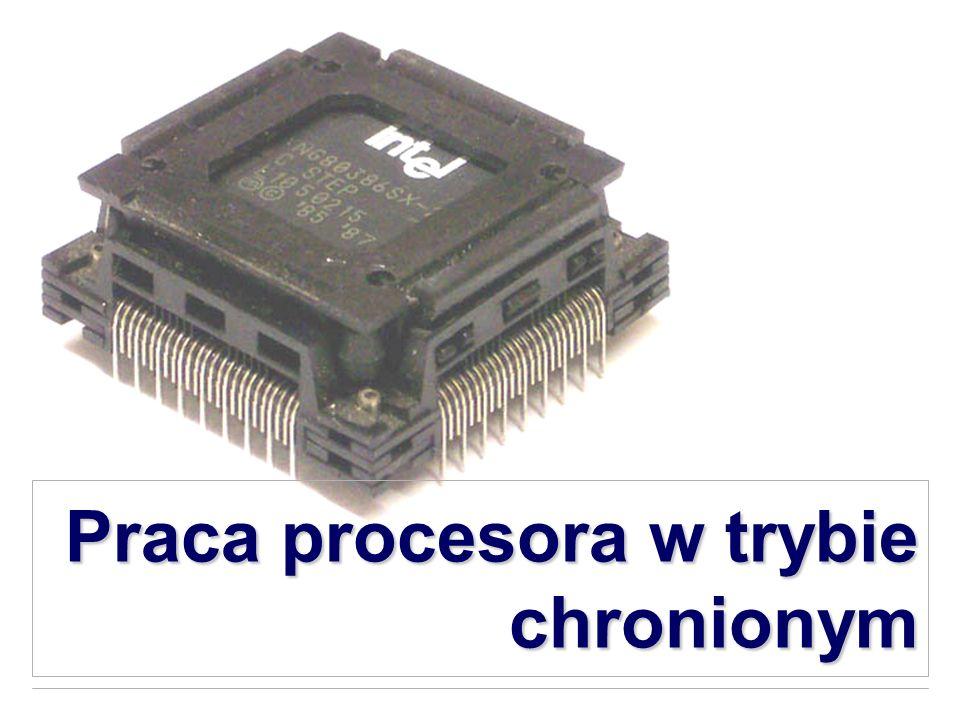 Praca procesora w trybie chronionym