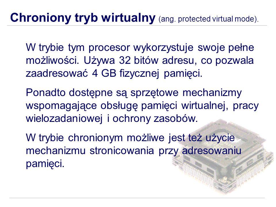 Chroniony tryb wirtualny (ang. protected virtual mode).