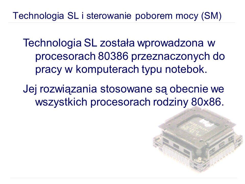 Technologia SL i sterowanie poborem mocy (SM)