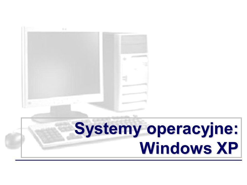 Systemy operacyjne: Windows XP