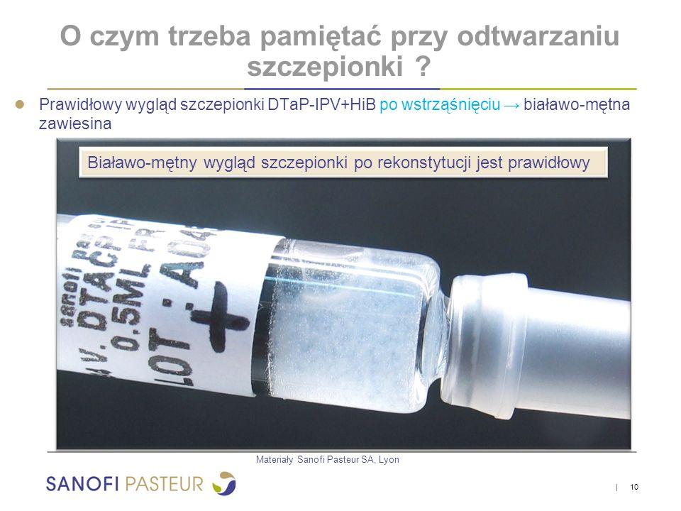 O czym trzeba pamiętać przy odtwarzaniu szczepionki