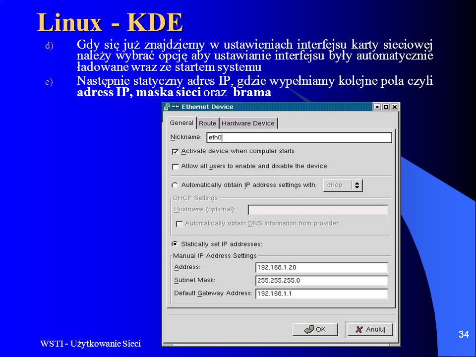 Linux - KDE