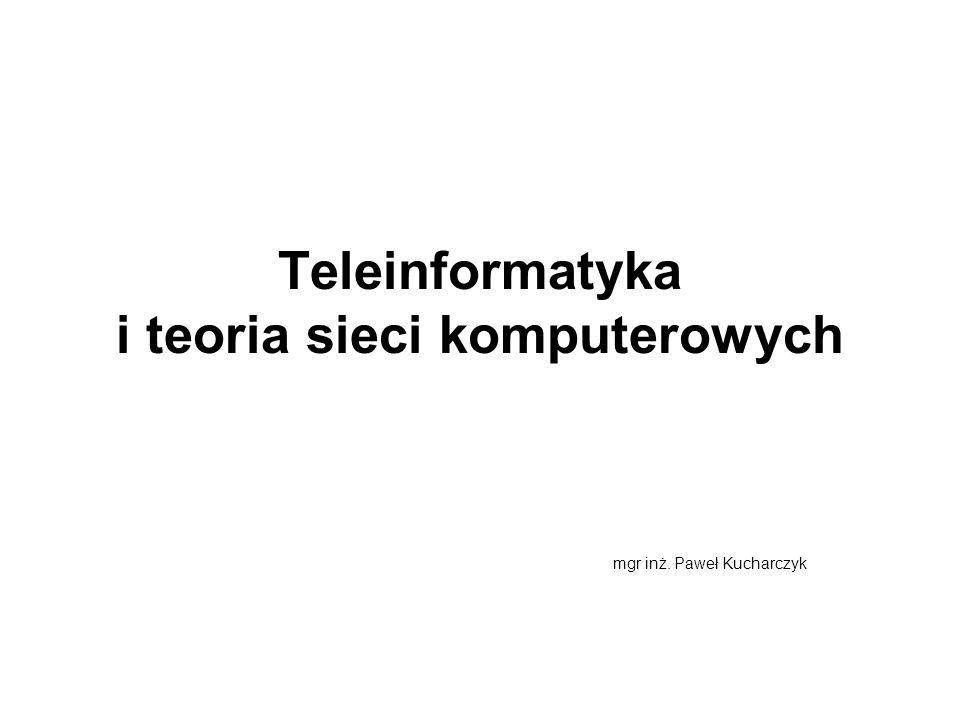 Teleinformatyka i teoria sieci komputerowych