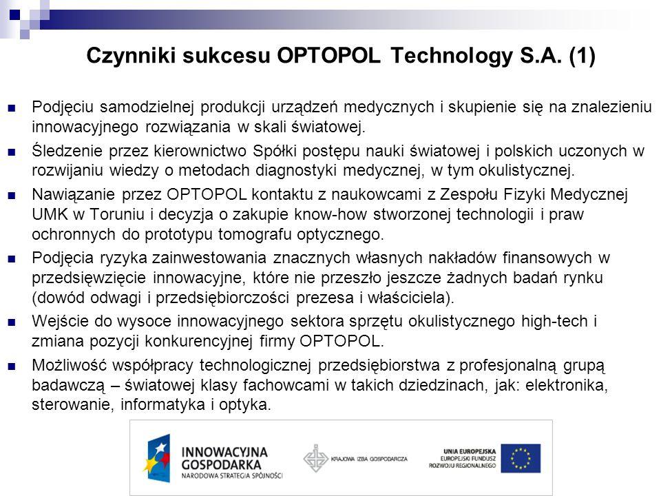 Czynniki sukcesu OPTOPOL Technology S.A. (1)