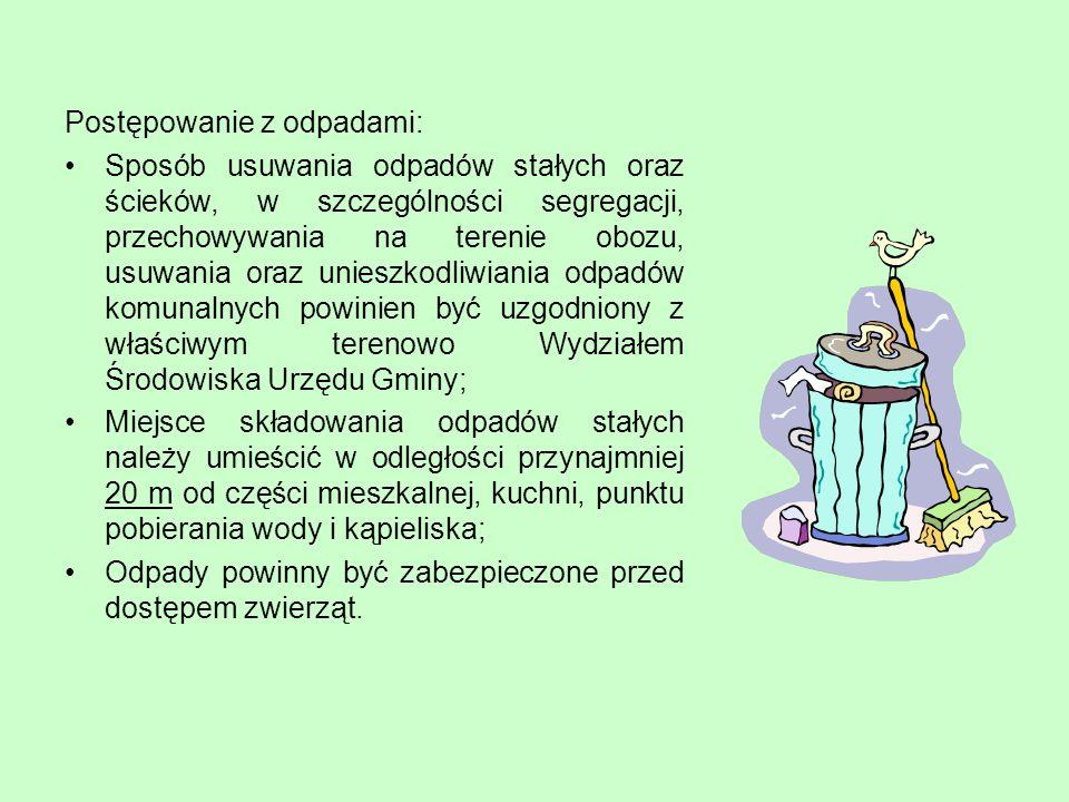 Postępowanie z odpadami:
