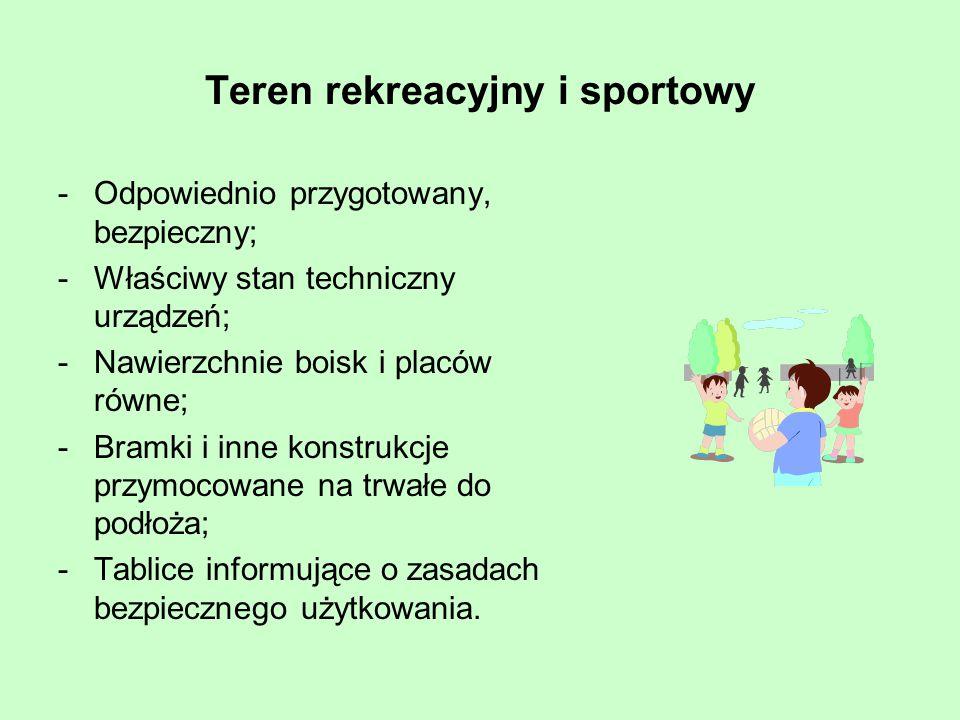 Teren rekreacyjny i sportowy